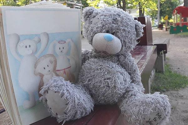 """RTA studentes rada grāmatu bērniem """"Meikuleņš īpazeist omotus"""""""