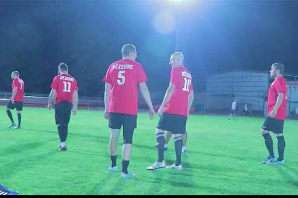 Sporta nakts Rēzeknē (VIDEO)