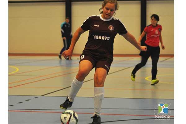 Rēzekne pulcēs Latvijas meiteņu telpu futbola čempionāta vecākās grupas komandas