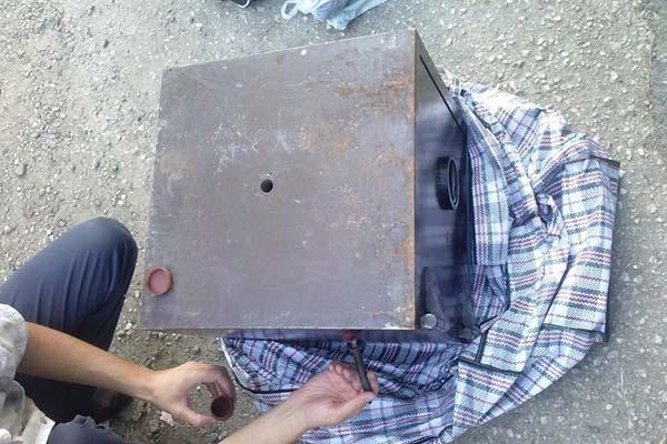 Rēzeknes novadā aizturēja vīrieti, kurš nozaga seifu ar 4000 EUR