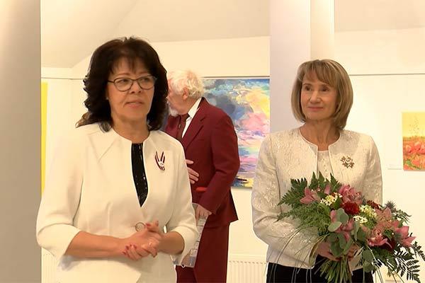 """VIDEO: Latgales Kultūrvēstures muzejā skatāma izstāde """"Rudens 2018"""""""