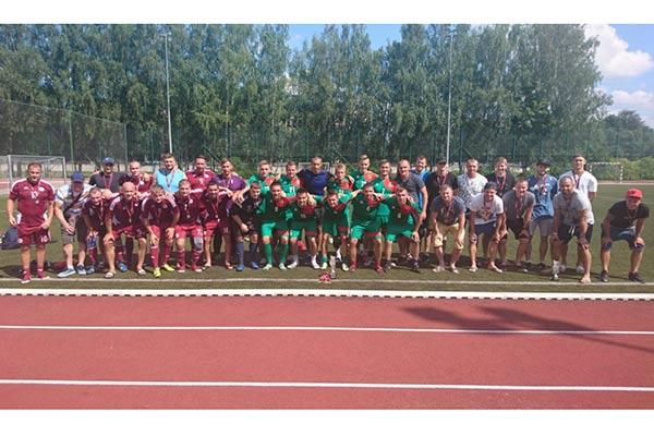 Valsts robežsardzes komanda uzvar Iekšlietu ministrijas sacensībās futbolā