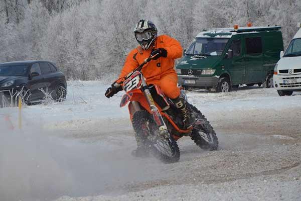 Camk Latgale sportisti atklāj motokrosa sezonu gan Latvijā, gan Igaunijā