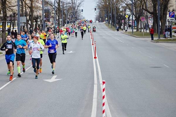Satiksmes ierobežojumi Rēzeknes pusmaratona laikā