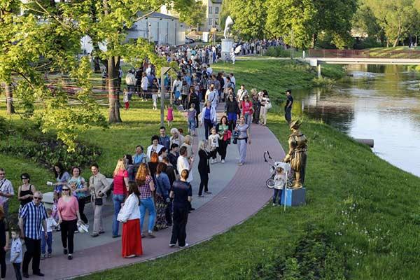 """Izsludinām pieteikšanos konkursam """"Vides objekta dizaina izstrāde Rēzeknes gājēju promenādē gar Rēzeknes upi"""""""