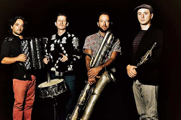 """Latgales vēstniecībā GORS viesosies Francijas džeza kvartets """"Impérial Orphéon"""""""