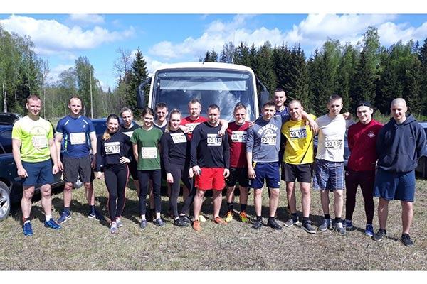 VRK komandas pārbaudīja savus spēkus sacensībās Stipro skrējienā