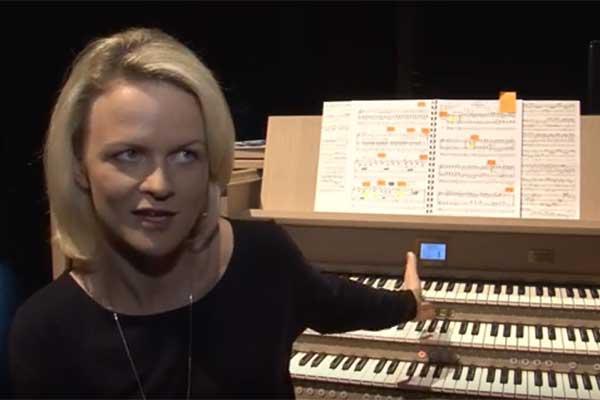 VIDEO: Rēzeknē jau otro reizi notiek ērģeļmūzikas festivāls