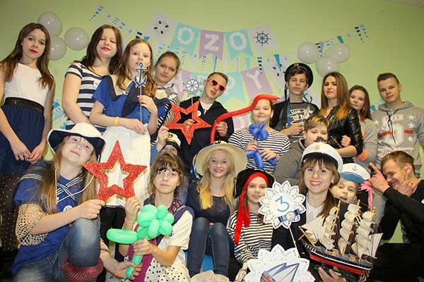 OzO jaunieši nosvinēja savu 3. dzimšanas dienu