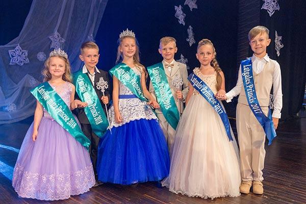 """Rēzeknē ir noskaidroti """"Latvijas Princese un Princis 2018"""" titulu ieguvēji"""